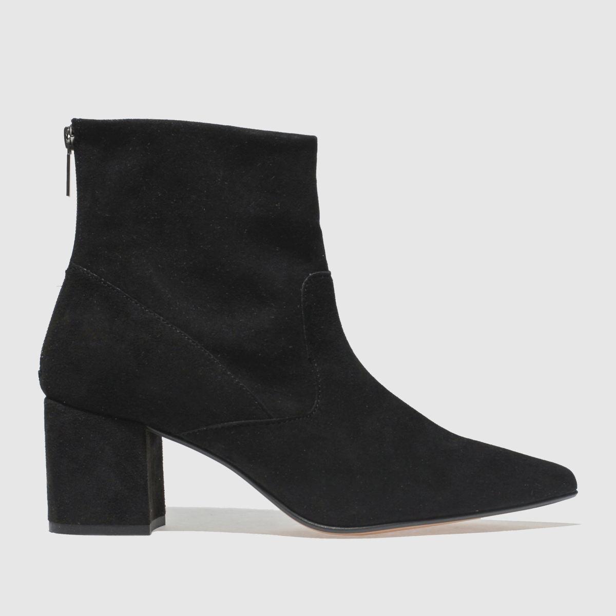 Schuh Black Banger Boots