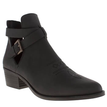 Schuh Black Rodeo Boots