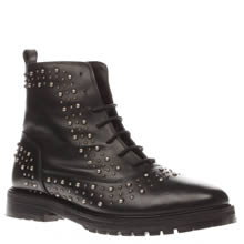 Schuh Black Bustle Womens Boots