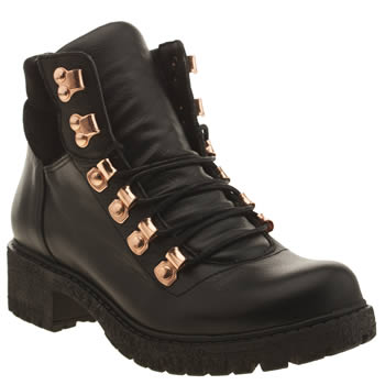 Schuh Black District Boots