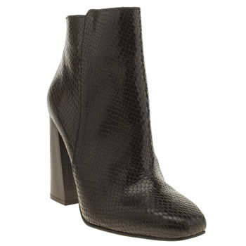 Schuh Black Turn Around Boots
