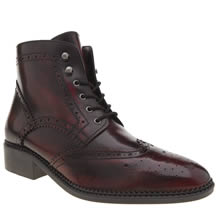 Schuh Burgundy Marcel Womens Boots
