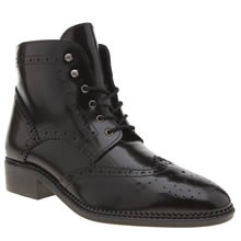 Schuh Black Marcel Womens Boots