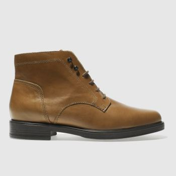 Schuh Tan Roulette Womens Boots