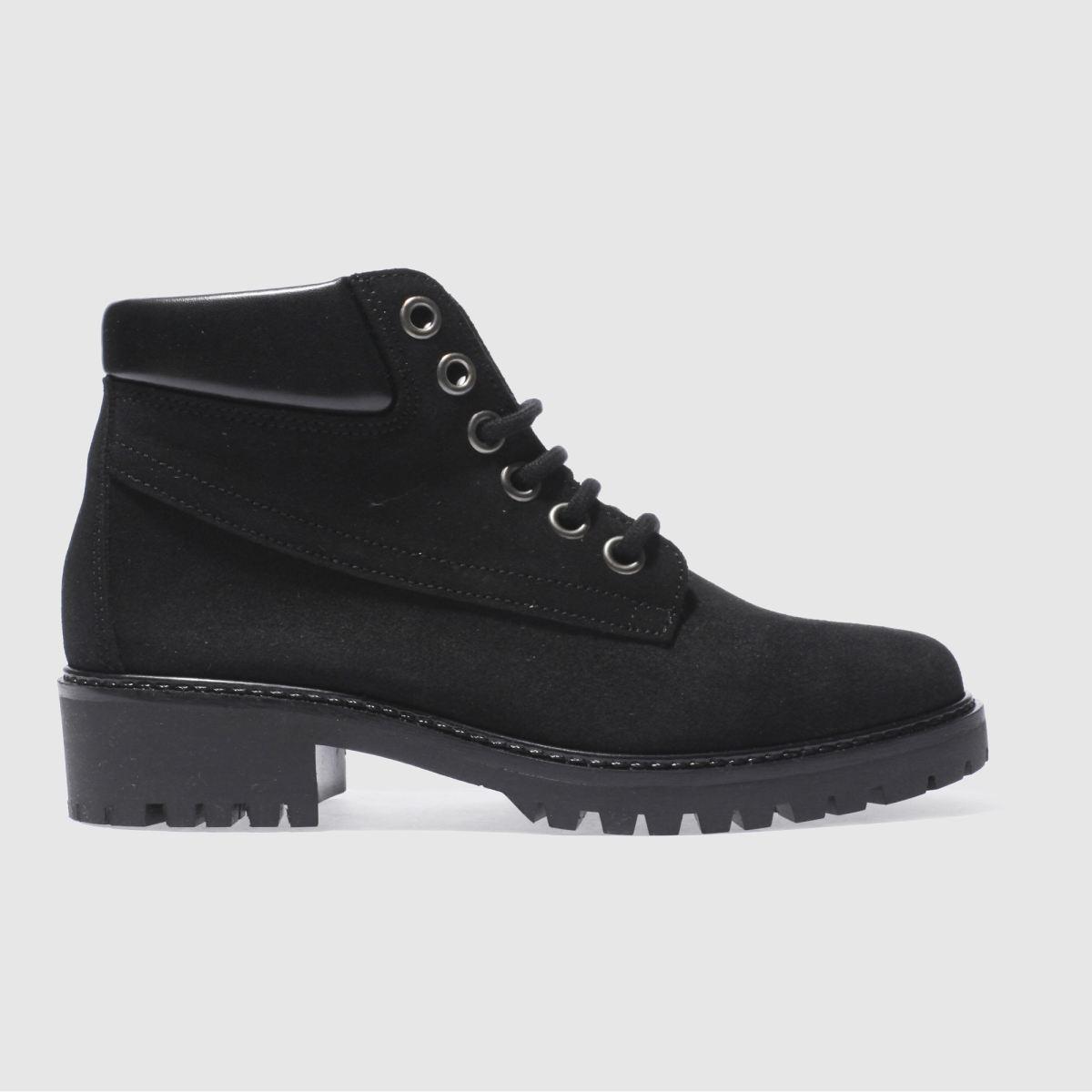 Schuh Black Climber Boots