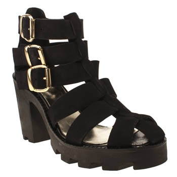 Schuh Black Catapult Boots