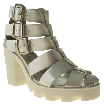 womens schuh silver catapult boots