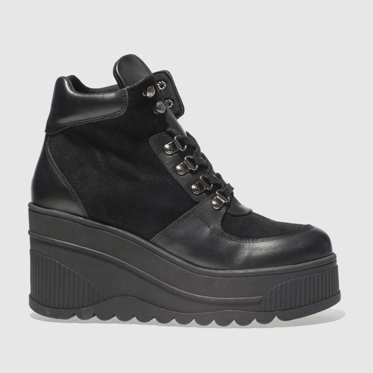 Schuh Black Fierce Boots