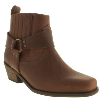 Schuh Tan Wild West Boots