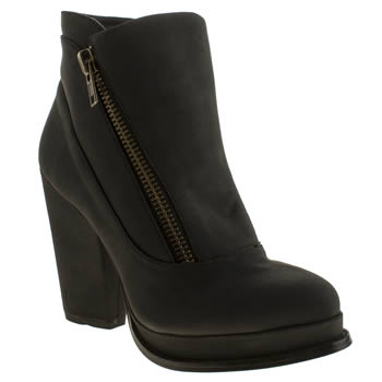 Schuh Black Popper Boots