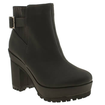 Schuh Dark Grey Endless Boots