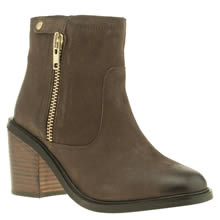 Schuh Dark Brown Radar Womens Boots
