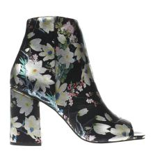 Schuh Black & Silver Starstruck Womens Boots