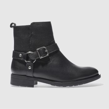 Schuh Black Chaos Womens Boots