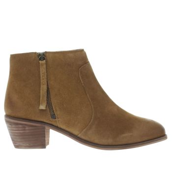 Schuh Tan Jesse Womens Boots