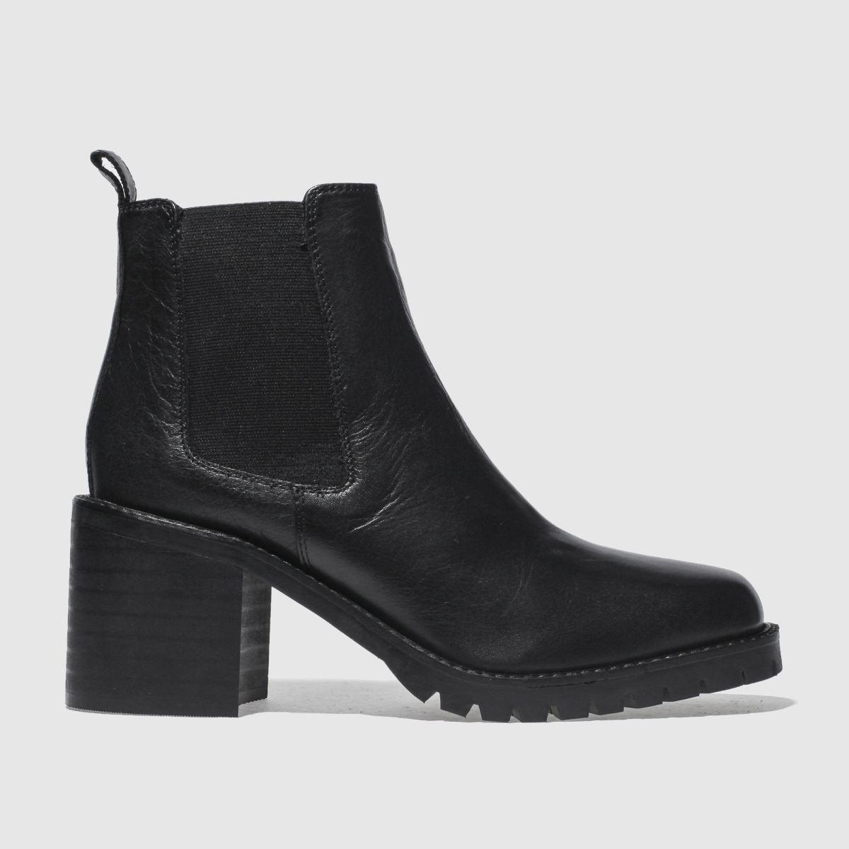 Schuh Black Strut Boots