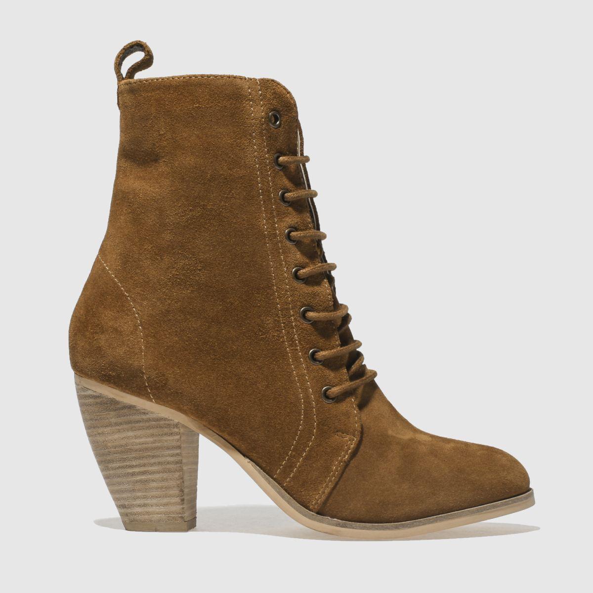Schuh Tan Prim N Proper Boots