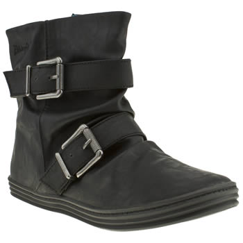 Womens Blowfish Black Ranuku Boots