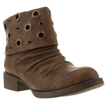 womens blowfish tan kostum boots
