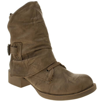 Womens Blowfish Tan Kaution Boots