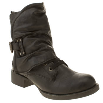 Womens Blowfish Black Kaution Boots