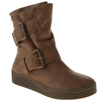 womens blowfish tan barnaby boots
