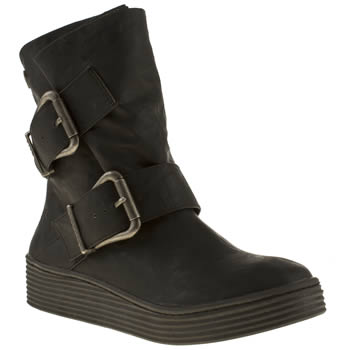 Womens Blowfish Black Barnaby Boots