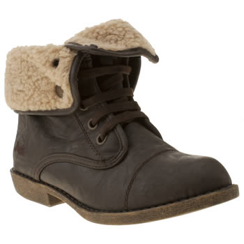 Womens Blowfish Dark Brown Atlas Boots