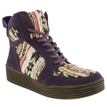 womens blowfish purple banner boots
