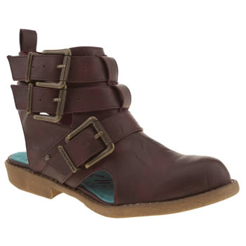 womens blowfish burgundy altered state boots