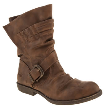 Womens Blowfish Tan Alexandria Boots