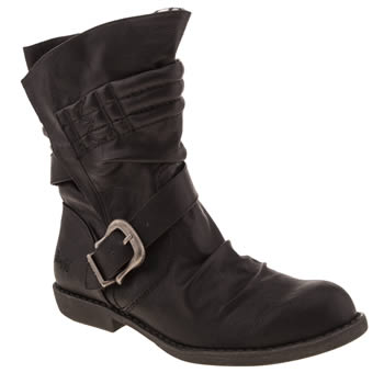 Womens Blowfish Black Alexandria Boots