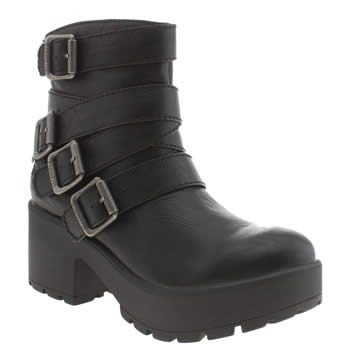 Womens Blowfish Black Zapped Boots