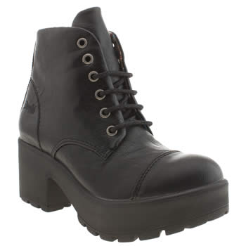 Womens Blowfish Black Zinka Boots