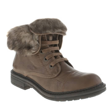 Womens Blowfish Tan Farina Shearling Boots
