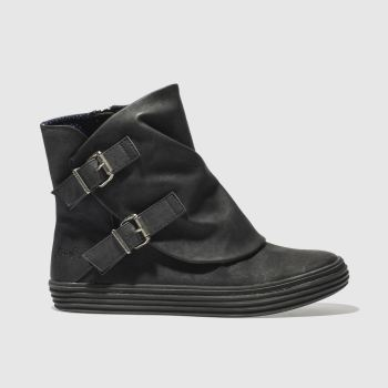 Blowfish Black Oil Boots