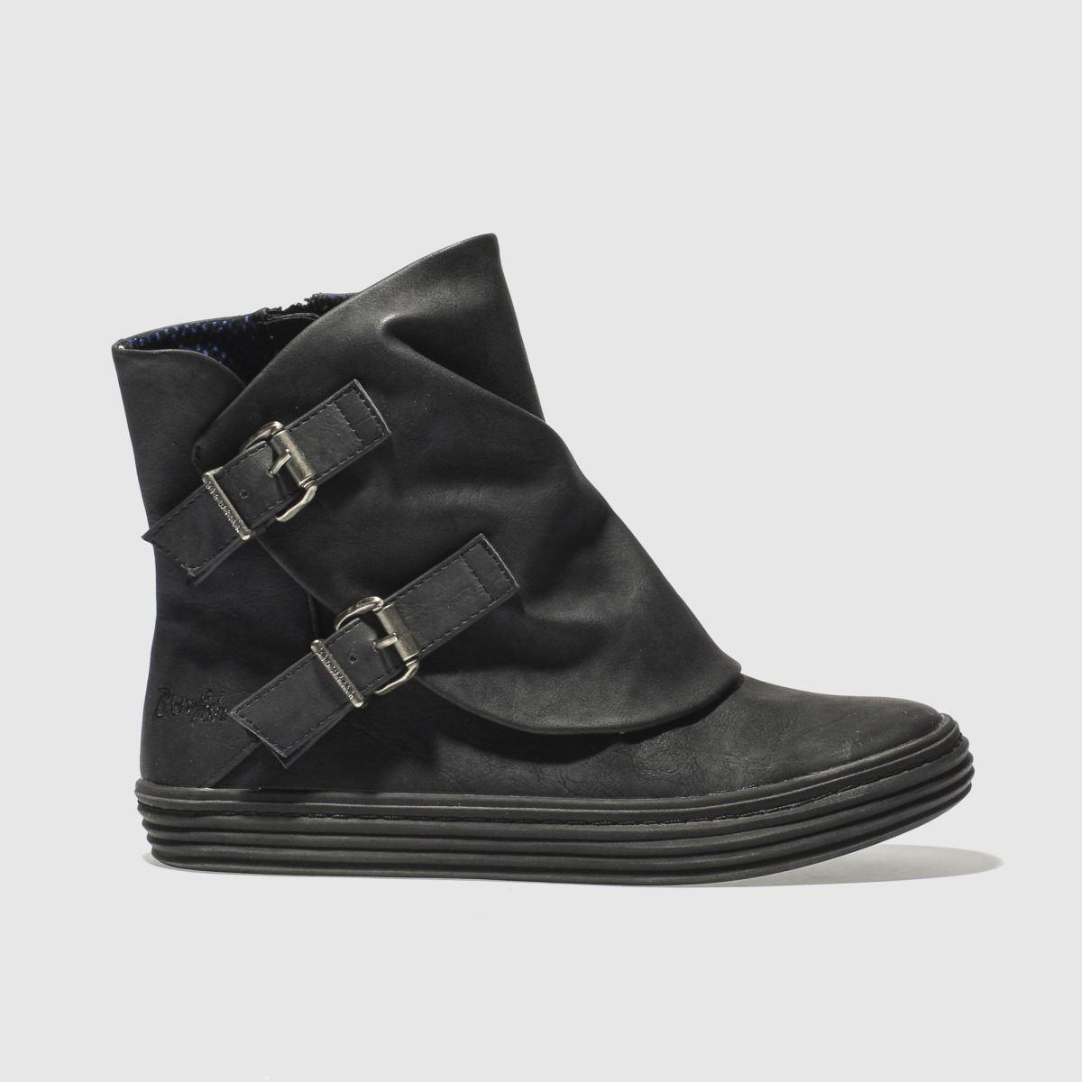 blowfish black oil boots