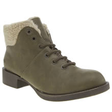 Blowfish Khaki Kaos Womens Boots