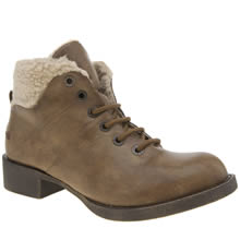 Blowfish Tan Kaos Womens Boots