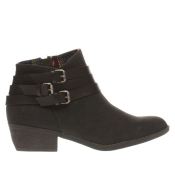 Blowfish Black Sans Womens Boots