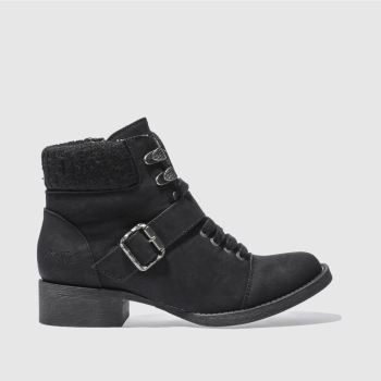Blowfish Black Karrie Womens Boots
