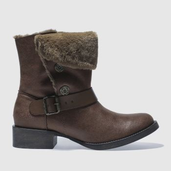 Blowfish Tan Katti Shearling Womens Boots