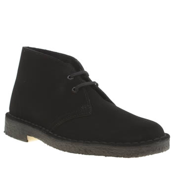 Clarks Originals Black Desert Boot Boots