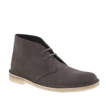 Clarks Originals Dark Taupe Desert Womens Boots