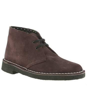 Clarks Originals Dark Brown Desert Rockn V&a Boots