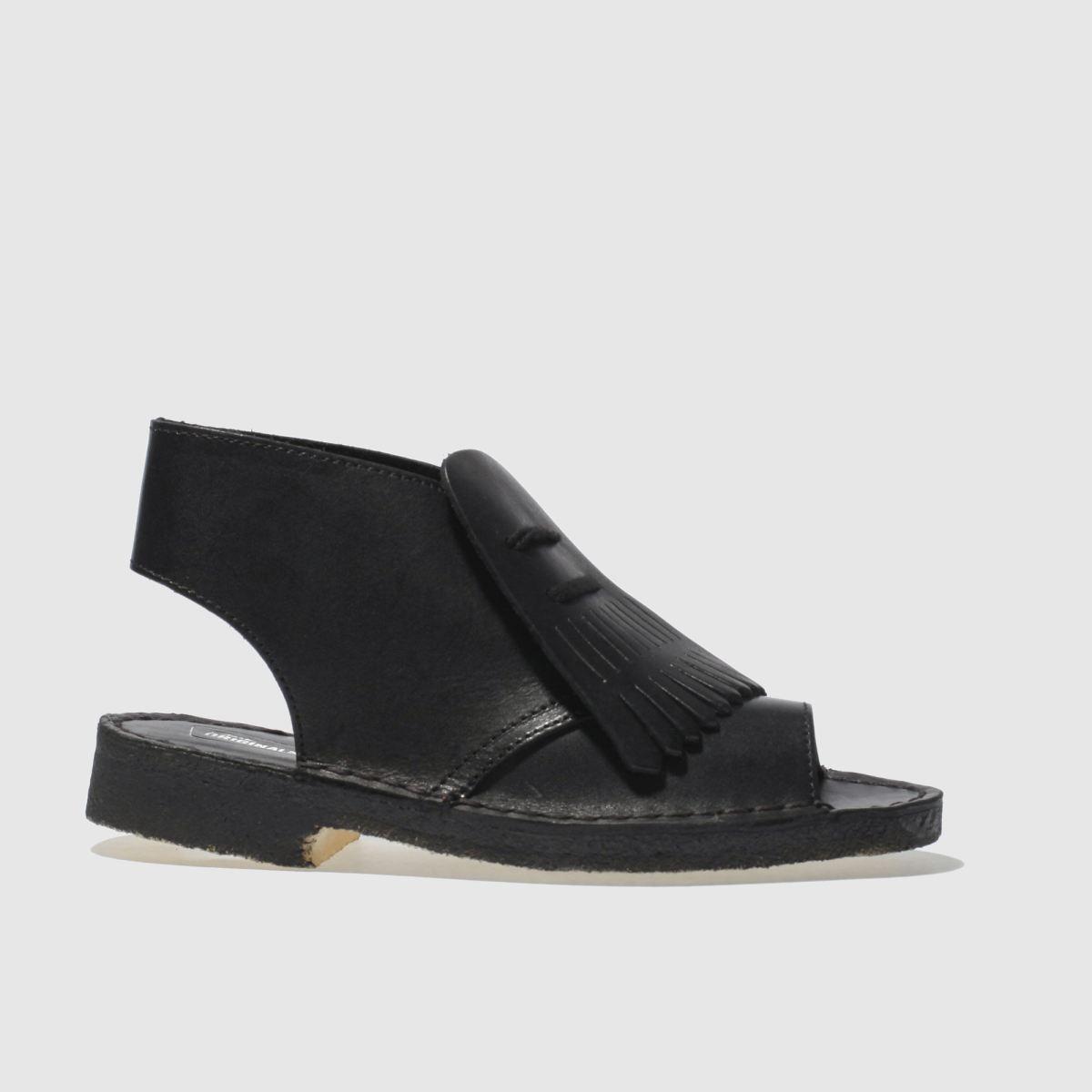 clarks originals black desert kiltie boots