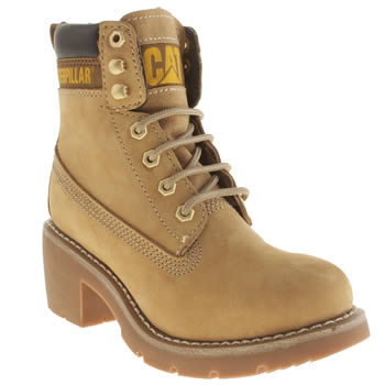Womens Caterpillar Natural Ottawa Boots
