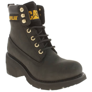 Caterpillar Black Ottawa Boots