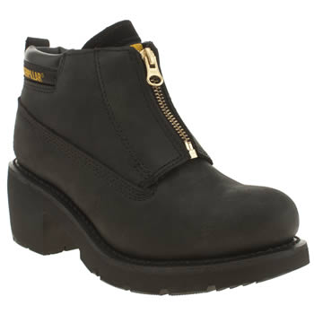 Caterpillar Black Ottawa Zip Boots