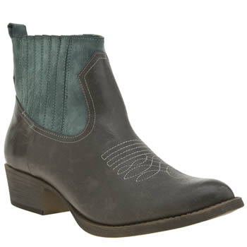 Coconuts Grey Bronco Womens Boots